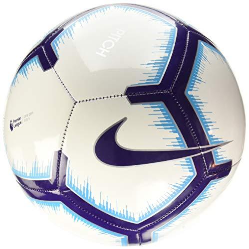 Nike PL NK PTCH-FA18 Balón de fútbol, Adultos Unisex, Multicolor (Azul/Blanco/Morado), 5