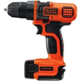 BLACK+DECKER LDX112C 12-Volt MAX Lithium-Ion Drill/Driver with 1 Battery