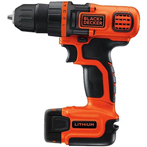 Black & Decker LDX112C-2 12-Volt MAX Lithium-Ion Drill/Driver with 2 Batteries
