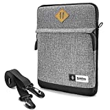 tomtoc 11 Inch Tablet Shoulder Bag for 11 Inch New iPad Pro, 10.9/10.5 Inch iPad Air, 10.2/9.7 Inch iPad, Microsoft Surface Go 2/1, Samsung Galaxy Tablet, Fit Apple Pencil, Magic/Smart Keyboard