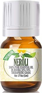 Neroli Essential Oil - 100% Pure in Jojoba (30%/70% Ratio) Best Therapeutic Grade - 5ml