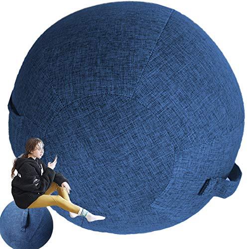 Sedia Ufficio Ergonomica Palla Fitness PilatesPiccolaGrandePalla per Gravidanza 65 Cm Antiscoppio per FitballSedia Palla per Addominali Ginnastica blue-65