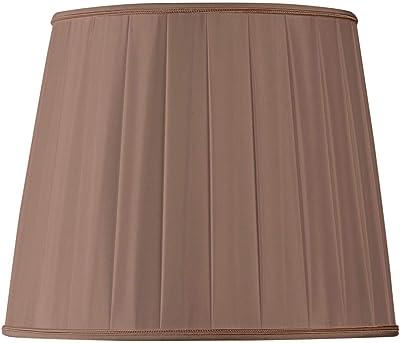 Vite E27 Copri lampada da tavolo Accessori Sala studio Lampada da comodino bar Paralume decorativo per lampada da tavolo Fondo 40 cm 15.7 pollici,Beige Paralume per lampada da terra Tablelamp