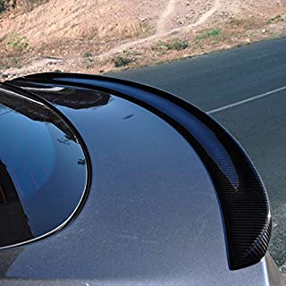 Spoiler, Tesla Model S Rear Trunk Spoiler Lip, Carbon Fiber, for Sedan 2012-2019, Factory Style