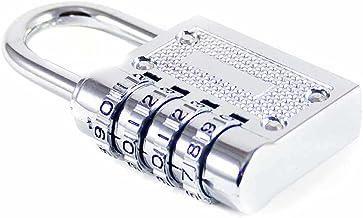 Cijferslot, nummerslot, hangslot, reisslot, kofferslot, veiligheidsslot, 35 mm beugelhoogte (cijferslot)
