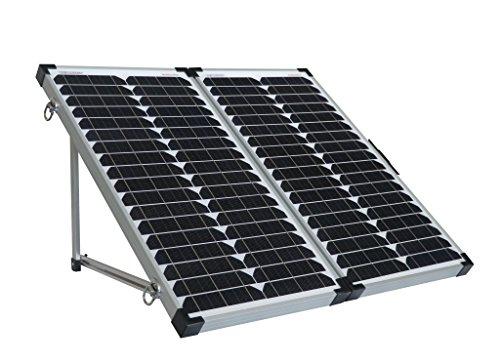 Enjoysolar® zonne-koffer 60 W, 100 W, 150 W opvouwbare zonne-module eenvoudig plug-and-play 60W (2 * 30W)