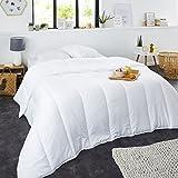 Sweetnight - Couette t 220g/m | 220x240 cm | Fine et Lgre | Douceur et Confort | Lavable | Enveloppe 100% Microfibre