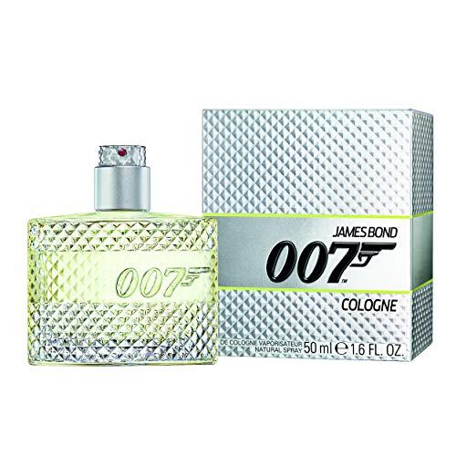 James Bond 007 Herren Parfüm, Eau de Cologne, Unwiderstehlich-frischer Tagesduft gepaart mit britischer Eleganz, 1er Pack (1 x 50ml)