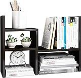 Vicllax 多機能 卓上収納ラック ファイルラック 組み合わせ自由 書類トレー オフィス 本棚 整理整頓 デスク上置棚