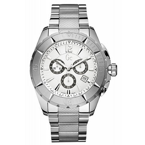 GUESS heren STAINLESS STEEL CASE CHRONOGRAPH DATE STEEL BRACELET horloge X53001G1S