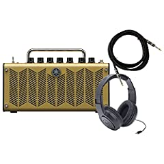 Includes Cubase AI6, Headphones, and Cable! Five mic models Optimized for acoustic electric guitars Can run on AC power or batteries. Effects processing driven by Yamaha's signature VCM technology
