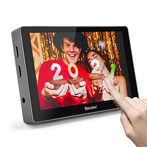 Desview R7 Monitor de Campo 7 Pulgadas Touchscreen, DSLR-Monitor-Externo-Reflex-4K HDMI Entrada/Salida 1100nit 1920 * 1200 con 3D LUT, Compatible con Cámaras Canon Sony Nikon Panasonic Fujifilm