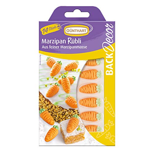 Marzipan Rübli | Marzipanmasse | Kuchendekoration | Torten | Geburtstag | Ostern