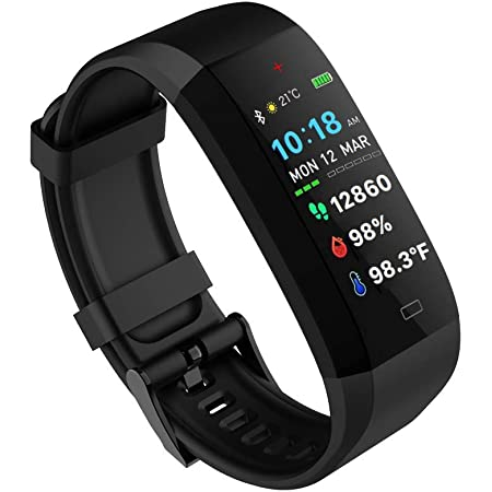 GOQii Vital 4.0 Oximeter built-in continuous SpO2, Heart rate & body temperature monitoring with 3 months personal coaching
