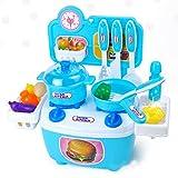 Faironly Kinder Spielhaus Spielzeug, künstliche Mini-Küche, zum Lernen und Kochen,...