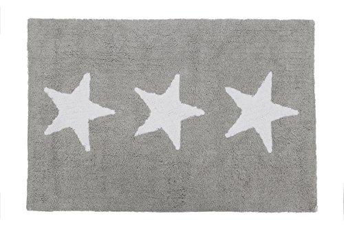 Happy Decor Kids HDK-229 - Alfombra lavable, color gris