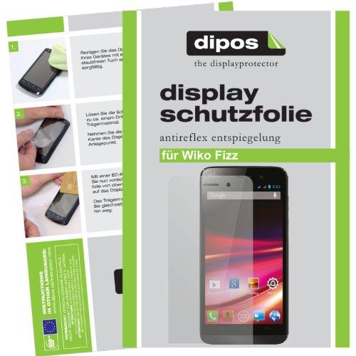 dipos I 6X Schutzfolie matt kompatibel mit Wiko Fizz Folie Bildschirmschutzfolie