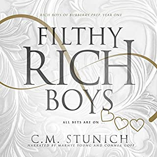 Filthy Rich Boys: Rich Boys of Burbery Prep., Book One audiobook cover art