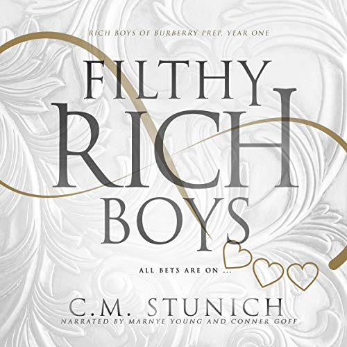 Page de couverture de Filthy Rich Boys: Rich Boys of Burbery Prep., Book One