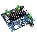 Borlai Digital Amplifier Board XH-A105 BT 5.0 2X 100W Stereo Audio AMP Module Support AUX