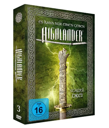 Highlander - Staffel 3 *LimitedEdition* [8 DVDs]