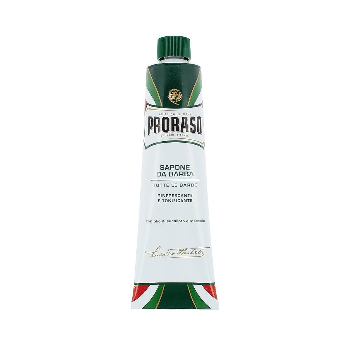 過半数スーパー対象Proraso イタリアン シェービングクリームチューブ ユーカリメンソール 150ml[海外直送品] [並行輸入品]