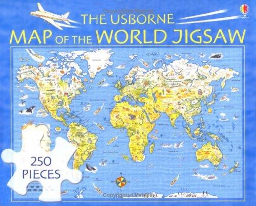 The Usborne Map of the World Jigsaw (Usborne jigsaws)