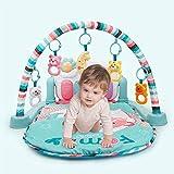 Sufei Baby-Piano-Matte, Baby-Spiel-Matte Gym Fitness-Musik-Licht Fun Piano-Jungen-Mädchen Fitness-Rack Early Education