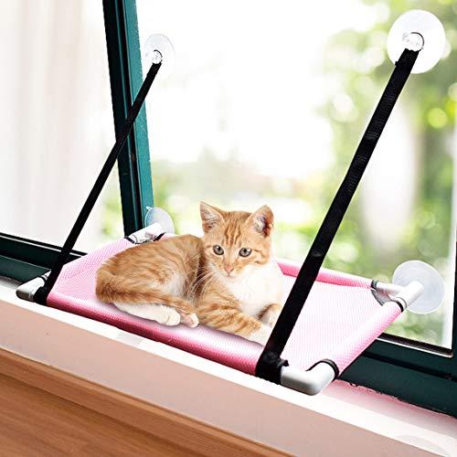 Hamaca Ventana De Gato - Rosa Hamaca Gato Ventana Hamaca Ventosa Para Gato Cama De Gato Ventosa Para Tomar El Sol Gato Para Mascotas Hamaca Colgante Gato Para Mascotas Hamaca Colgante Hasta 20