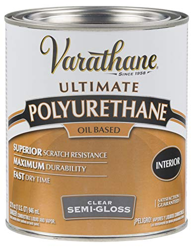 Rust-Oleum 6041H, Quart, Semi-Gloss Finish