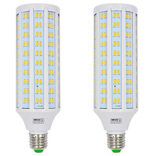 MENGS 2 Stück E27 LED Lampe 30W Warmweiß 3000K AC 85-265V 230x5730 SMD