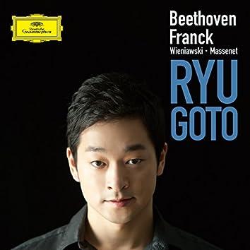 Beethoven, Franck, Wieniawski, Massenet