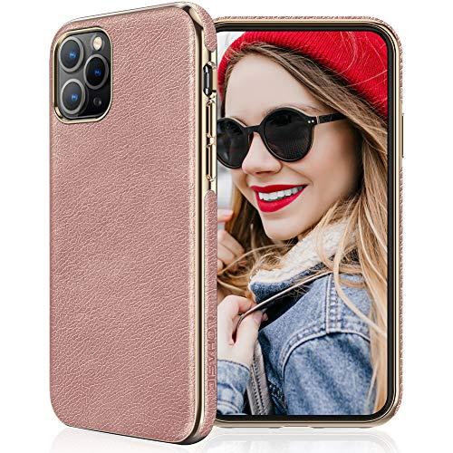 LOHASIC - Funda de piel sintética para iPhone 11 Pro Max (2019) 6.5, diseño elegante y elegante acabado elegante para mujeres y...