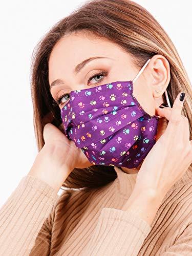 mascherina lavabile elegante donna - PAWS - morbida, comoda, sicura, confortevole