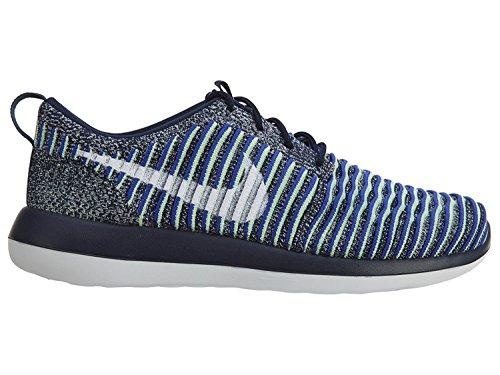 Nike Roshe Two Flyknit 844929 - Zapatillas deportivas para correr (tallas 3 US 5.5 EU 36, azul marino 401)