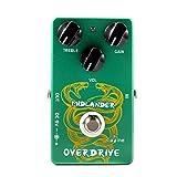 Caline Overdrive Guitar & Bass Accessories Effect Pedal, 9V DC Midlander Green