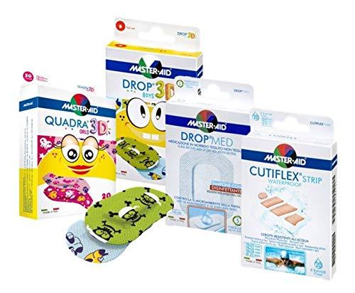 Sparpack zum Probieren!   sensitive Pflaster   wasserfest   atmungsaktiv   Kinderpflaster ♥ Pflasterset für die Familie ♥