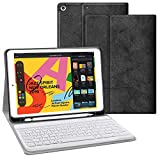 iPad Keyboard Case for iPad 10.2 2019 - JUQITECH Slim Smart iPad 7th Generation...