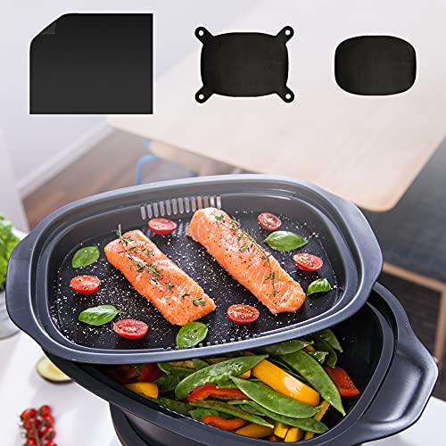 mixcover Dauerbackfolie - Backpapier, Tropfschutz für Monsieur Cuisine Connect und Edition Plus Einlegeboden