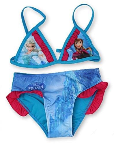 Frozen - Costume Due Pezzi - Ragazza Blau 104 cm