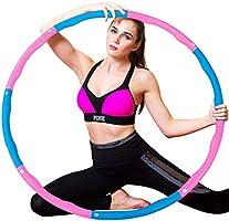 WELLXUNK Hoelahoep, hoelahoep, geschikt voor gewichtsvermindering en massage