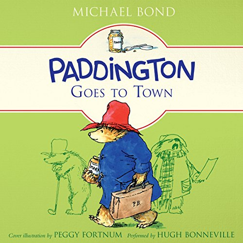 Paddington Goes to Town audiobook cover art