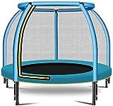 Trampolines Junior pour Enfants, Small 6 Side Trampoline for Children Avecfilet De Sécurité Et Coussin en Mousse, pour Activité Intérieure Et Extérieure Rondelle avec Videur pour Enfants