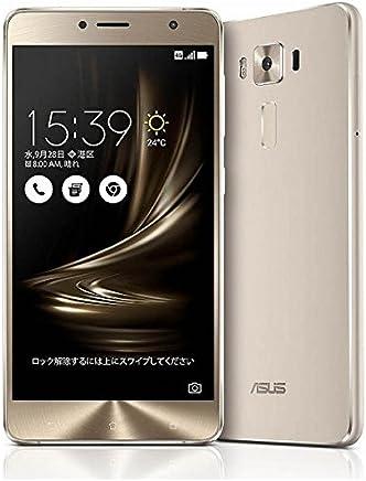 エイスース SIMフリースマートフォン ZenFone 3 Deluxe(Qualcomm Snapdragon 625/メモリ 4GB)64GB シルバー ZS550KL-SL64S4