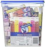 Ahoj-Brause Brause-Bonbon-Stangen – Brause-Bonbons verpackt als Stange – 3 verschiedene Geschmacksrichtungen: Zitrone