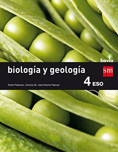 Biología y geología. 4 ESO. Savia - 9788467586978