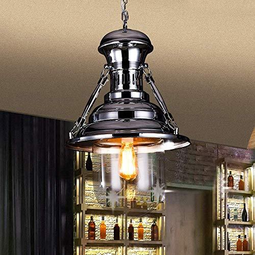 EASTYY Cromo Keroseno Sombra Cortijo Vintage Techo Industrial Lámpara De Techo E27 Edison Retro Loft Techo De Metal Lámparas Colgantes Linterna For La Cocina Island Cafe Decor