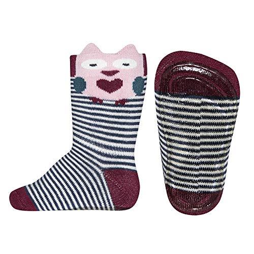 Ewers ABS-Socken Softstep Eule Ringel