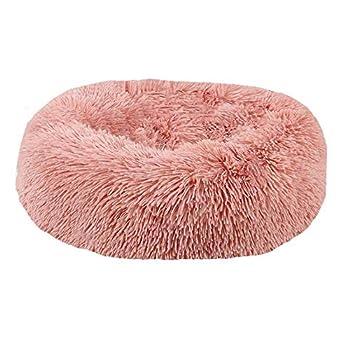 BVAGSS Panier Chat Lit Panier pour Animal Domestique pour Chats et Petits Chiens Coussin pour lit de Chat Lit Donut Chien Convient XH034