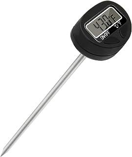FstDgte キッチン料理温度計 デジタルクッキング温度計 スティック温度計 LCD大画面 高精度 料理 風呂湯など温度管理 【ボタン電池付き 日本語説明書付き】